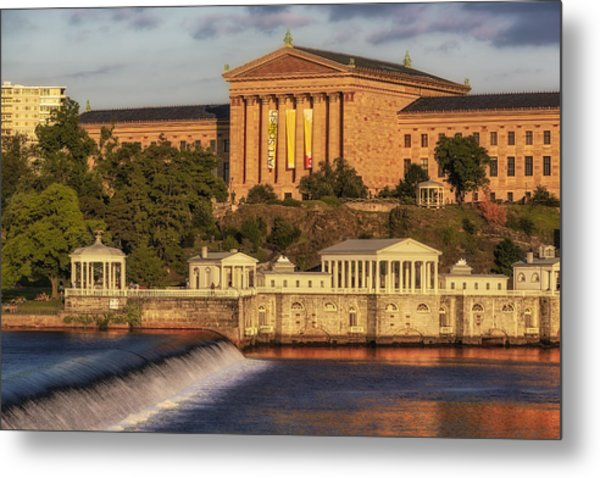 Philadelphia Museum Of Art Metal Print