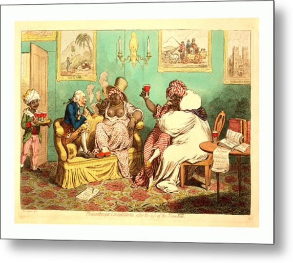 Philanthropic Consolations, After The Loss Metal Print