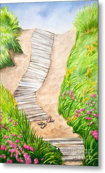 Philbin Beach Path Metal Print