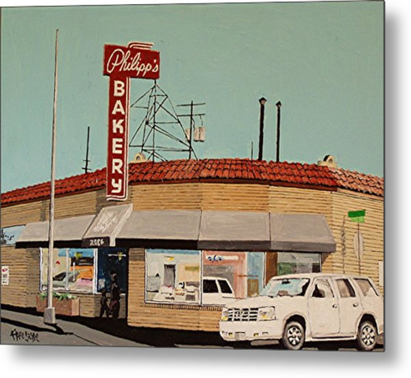 Philipp's Bakery No. 2 Metal Print by Paul Guyer
