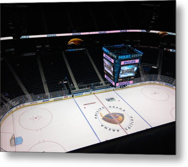 Phillips Arena Metal Print