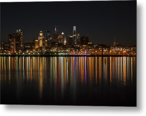 Philly Night Metal Print