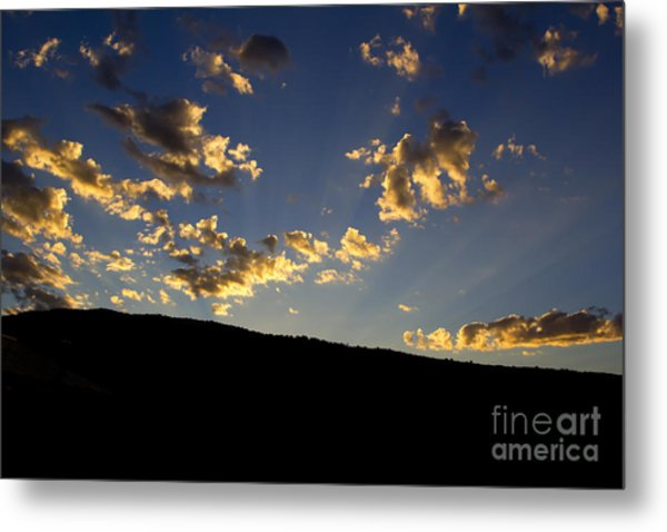 Philmont Sunset Metal Print by Sheldon Perry