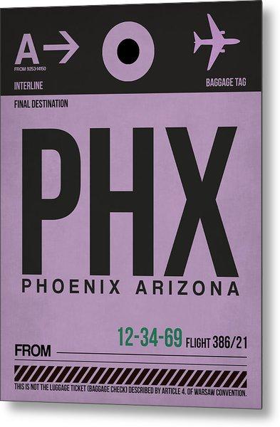 Phoenix Airport Poster 1 Metal Print
