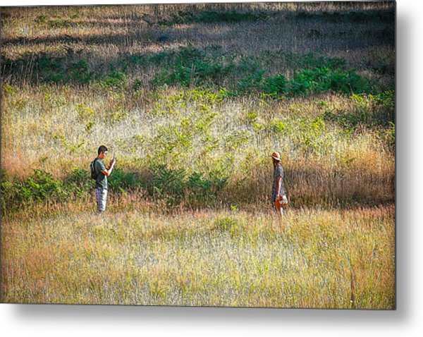 Photo Op Metal Print by CarolLMiller Photography