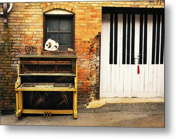 Piano Keys Metal Print by Joe Longobardi