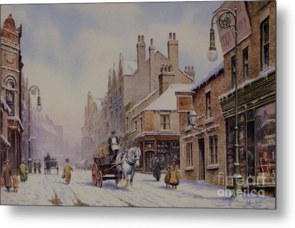 Piccadilly Hanley Metal Print by Anthony Forster