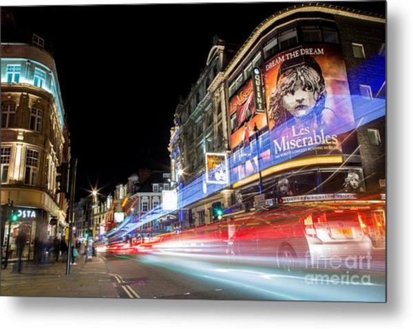 A Night In The West End Metal Print