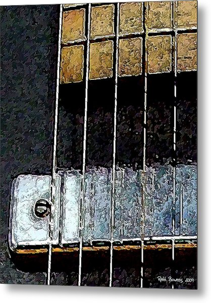 Pick Up Line Metal Print by Everett Bowers