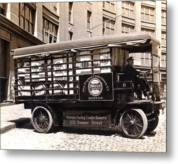 Picture 13 - New - Necco Delivery Truck Metal Print