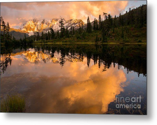 Picture Lake 1 Metal Print