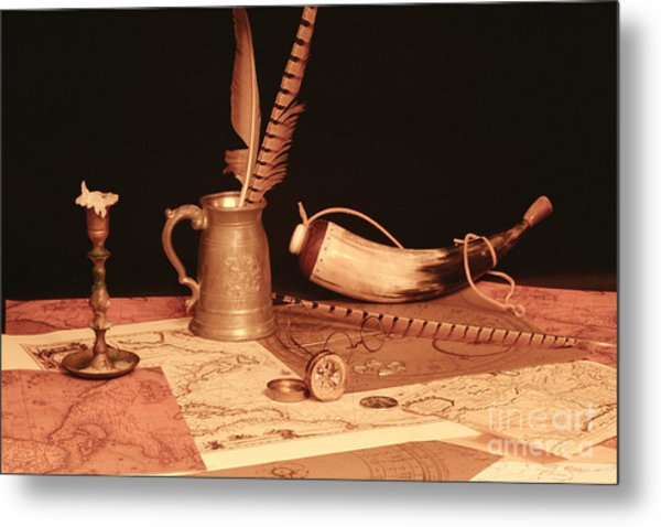Pieces Of Eight  Metal Print