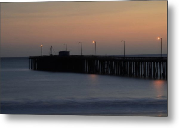 Pier Avilla Beach California  Metal Print