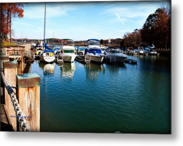 Pier Pressure - Lake Norman Metal Print