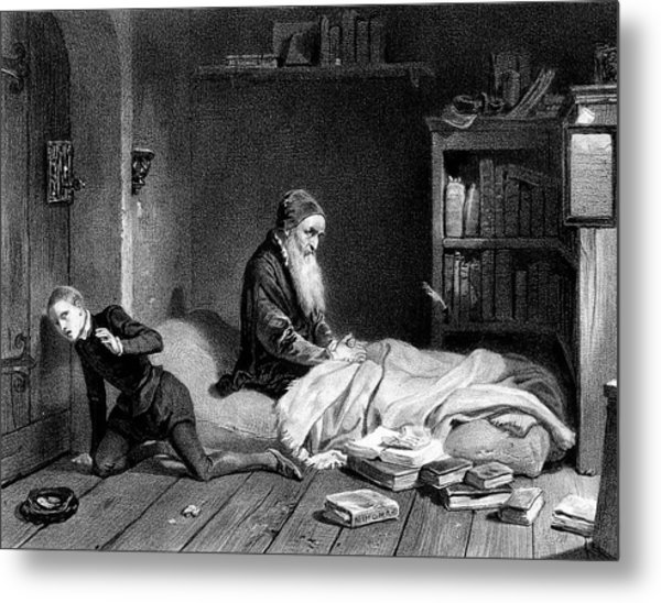 Pierre De La Ramee Known As Petrus Metal Print by Mary Evans Picture Library