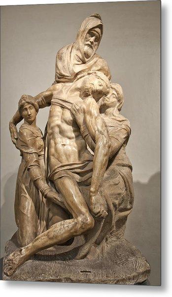 Pieta By Michelangelo Metal Print
