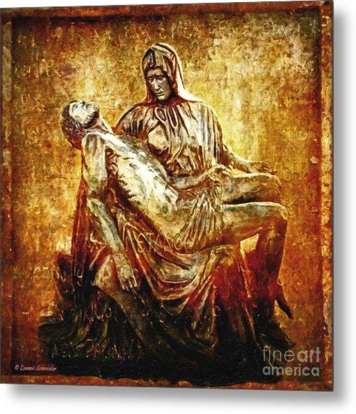 Pieta Via Dolorosa 13 Metal Print
