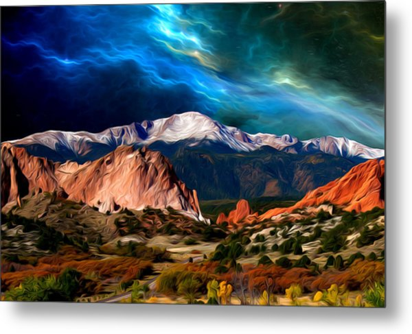 Pikes Peak Feelin' It... Metal Print