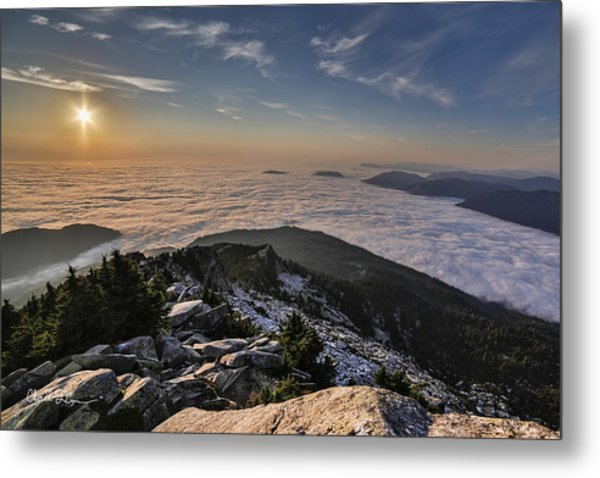 Pilchuck West  Metal Print