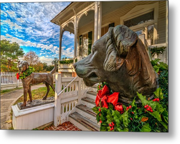 Pillot House Dogs Metal Print