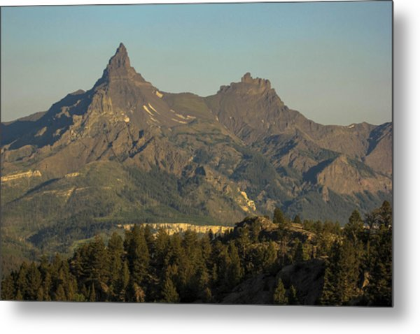 Pilot And Index Peaks Metal Print