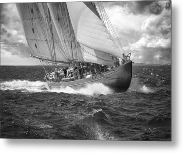 Pilot Schooner Virginia Metal Print