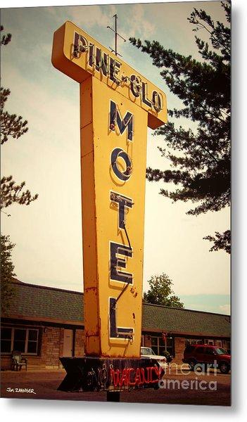 Pine Glo Motel Metal Print