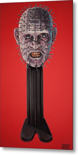 Pinhead Metal Print by Brent Andrew Doty