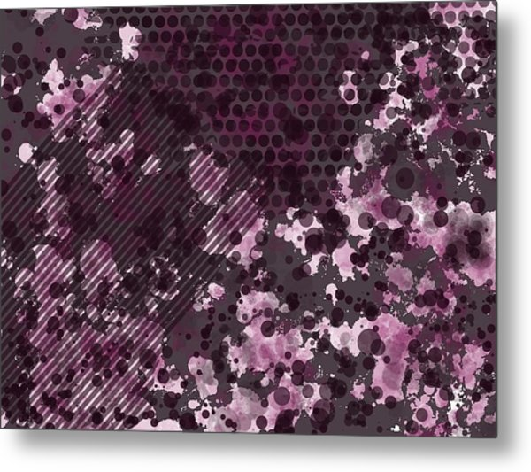 Pink Butterfly Metal Print by Kristina Sale