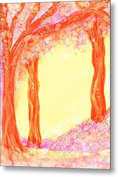 Pink Dawn Metal Print