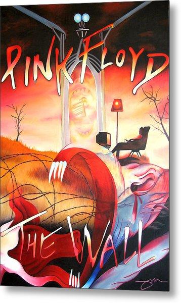 Pink Floyd The Wall Metal Print