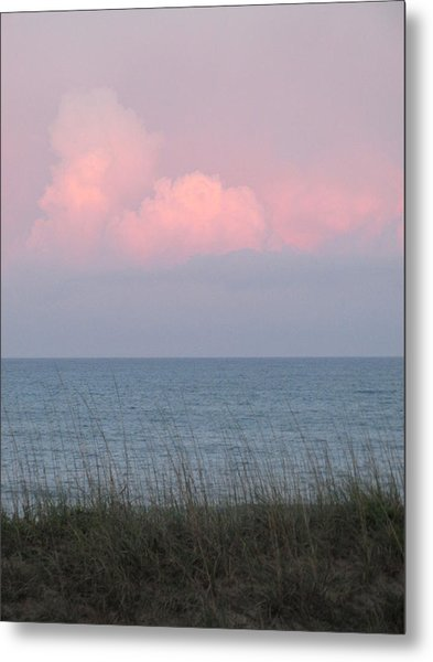 Pink Sky Metal Print by Cheryl Smith