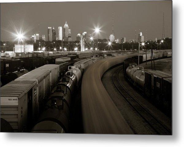 Pipeline To Atlanta Metal Print by Scott Moore