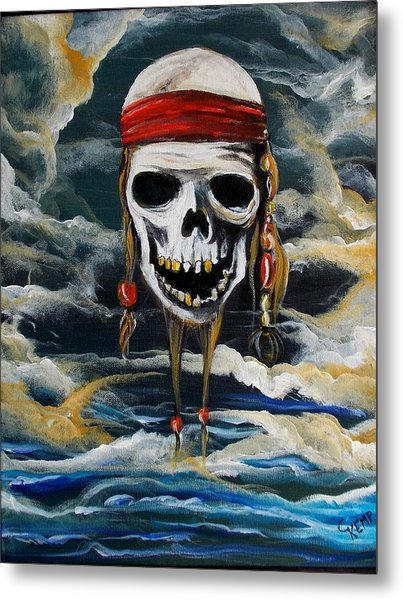 Pirate Past Metal Print
