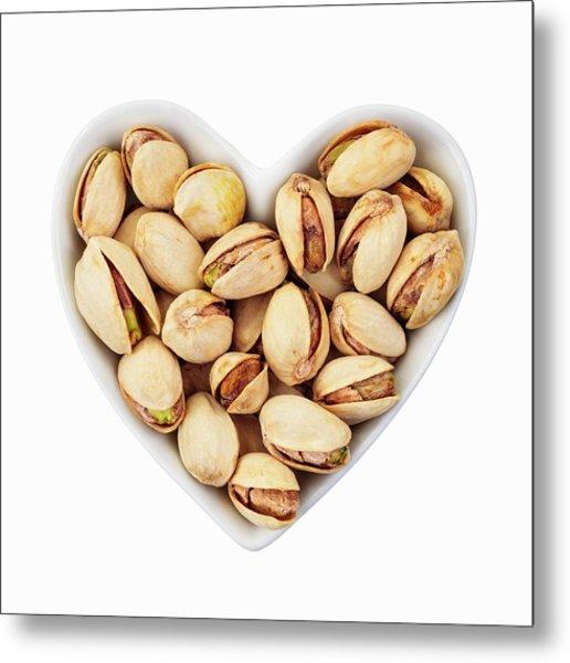 Pistachio Nuts Metal Print by Geoff Kidd