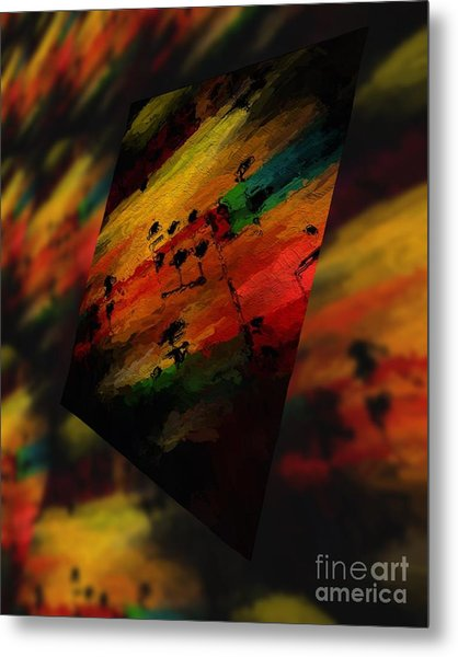 Pitch Space 5 Metal Print