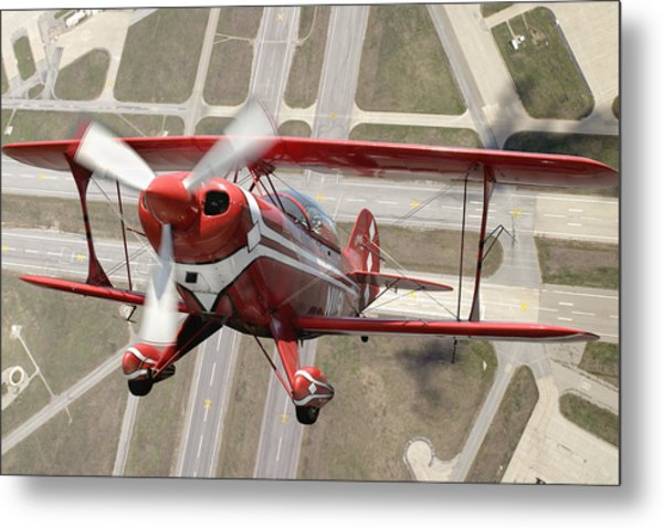 Pitts Special S-2b Metal Print by Larry McManus