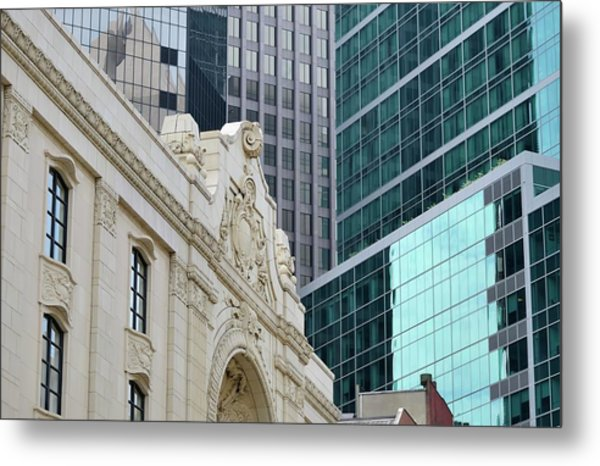 Pittsburgh Architecture Metal Print by Rivernorthphotography