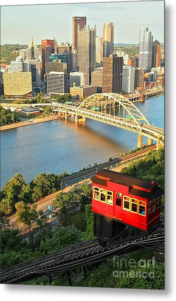 Pittsburgh Duquesne Incline Metal Print