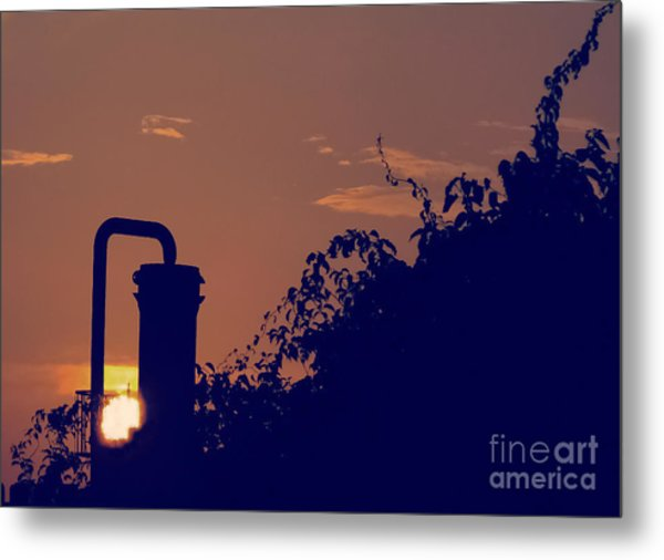 Pittsburgh Sunset  Metal Print