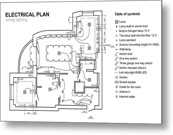 plan wiring lighting electrical schematic interior set of standard icons switches, electrical symbols for blueprint by yuri parmenov Electrical Plans Drawings