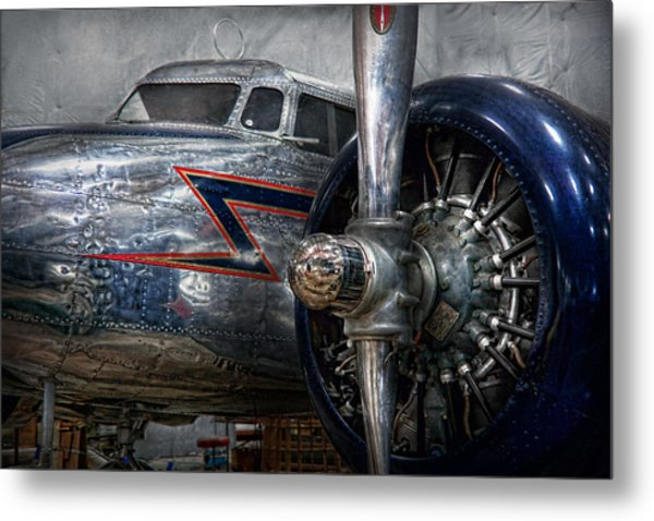 Plane - Hey Fly Boy  Metal Print