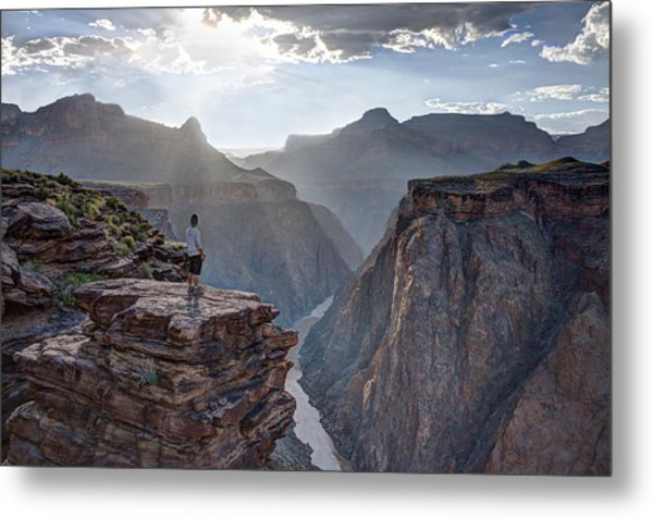 Plateau Point - Grand Canyon Metal Print
