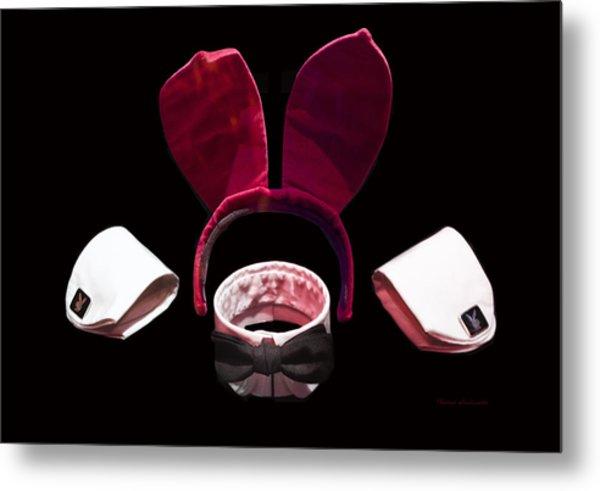 Playboy Bunny Costume Accessories Metal Print
