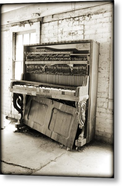 Played Out Metal Print