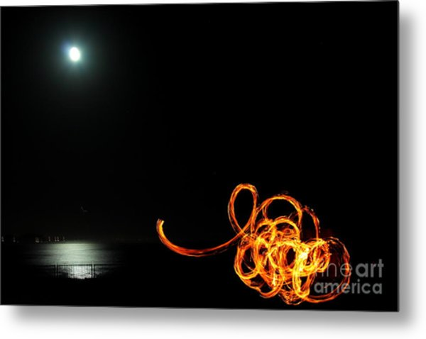 Playing With Fire 1 Metal Print