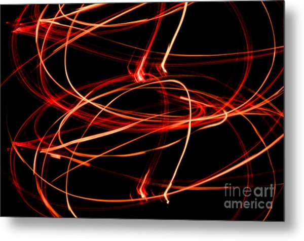 Playing With Fire 13 Metal Print