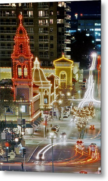 Plaza-kansas City Metal Print