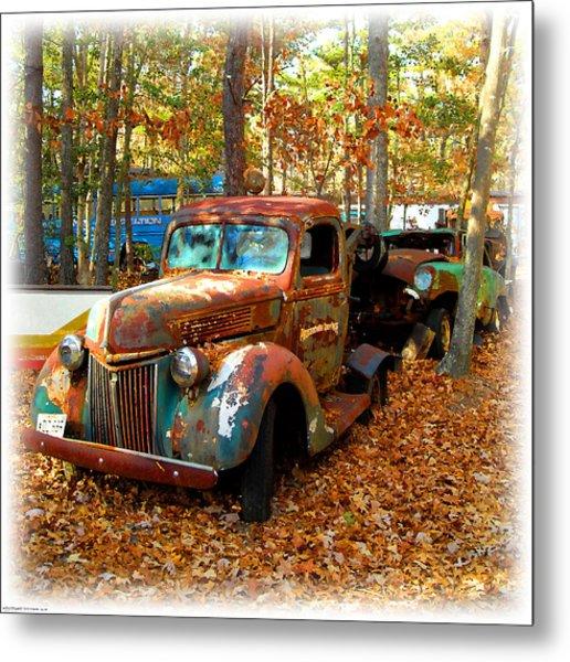 Pleasantville Speedway Tow Truck Metal Print