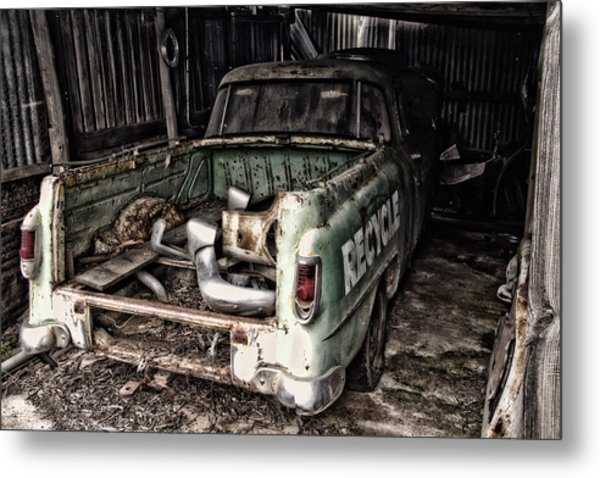 Please Metal Print by John Monteath